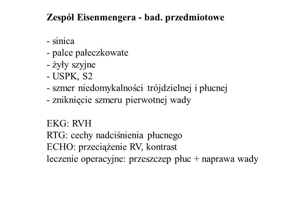 Zespół Eisenmengera - rtg