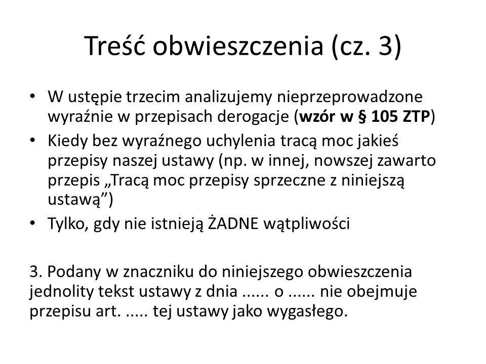 Treść obwieszczenia (cz.