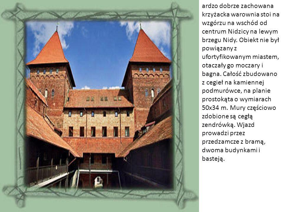 Budowę zamku rozpoczęto około 1370 r., a w 1409 roku rezydował już w nim krzyżacki prokurator.