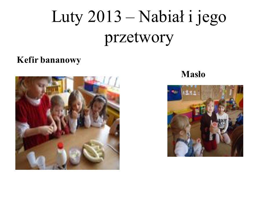 Luty 2013 – Nabiał i jego przetwory Kefir bananowy Masło