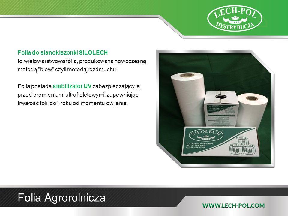 Folia do sianokiszonki SILOLECH to wielowarstwowa folia, produkowana nowoczesną metodą