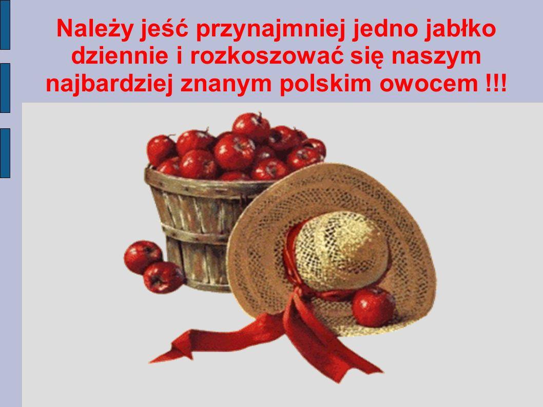 UWAGA !!! Skórka jabłka trawi się lepiej lub gorzej, zależy to od gatunku jabłka. Skórka zawiera składniki odżywcze, które mają zdrowotne działanie dl