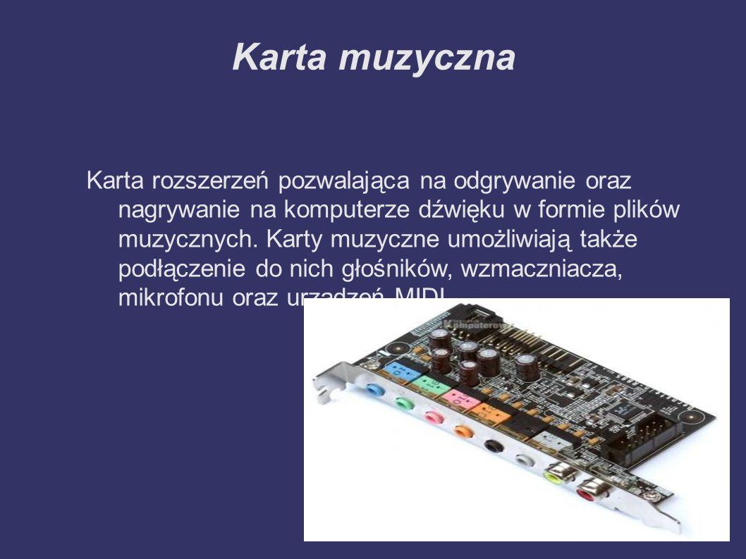 Płyta główna ➲ Płyta główna jest najważniejsza częścią komputera PC.