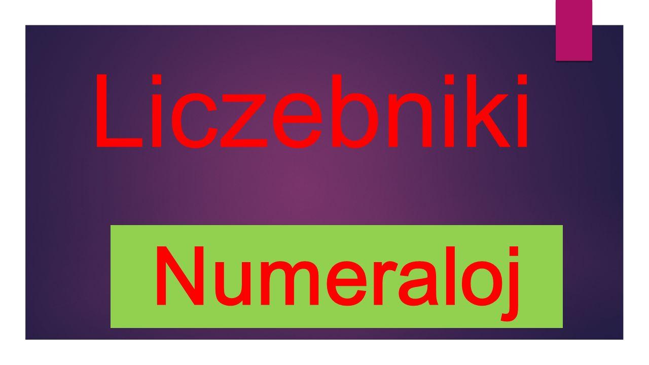 Liczebniki Numeraloj