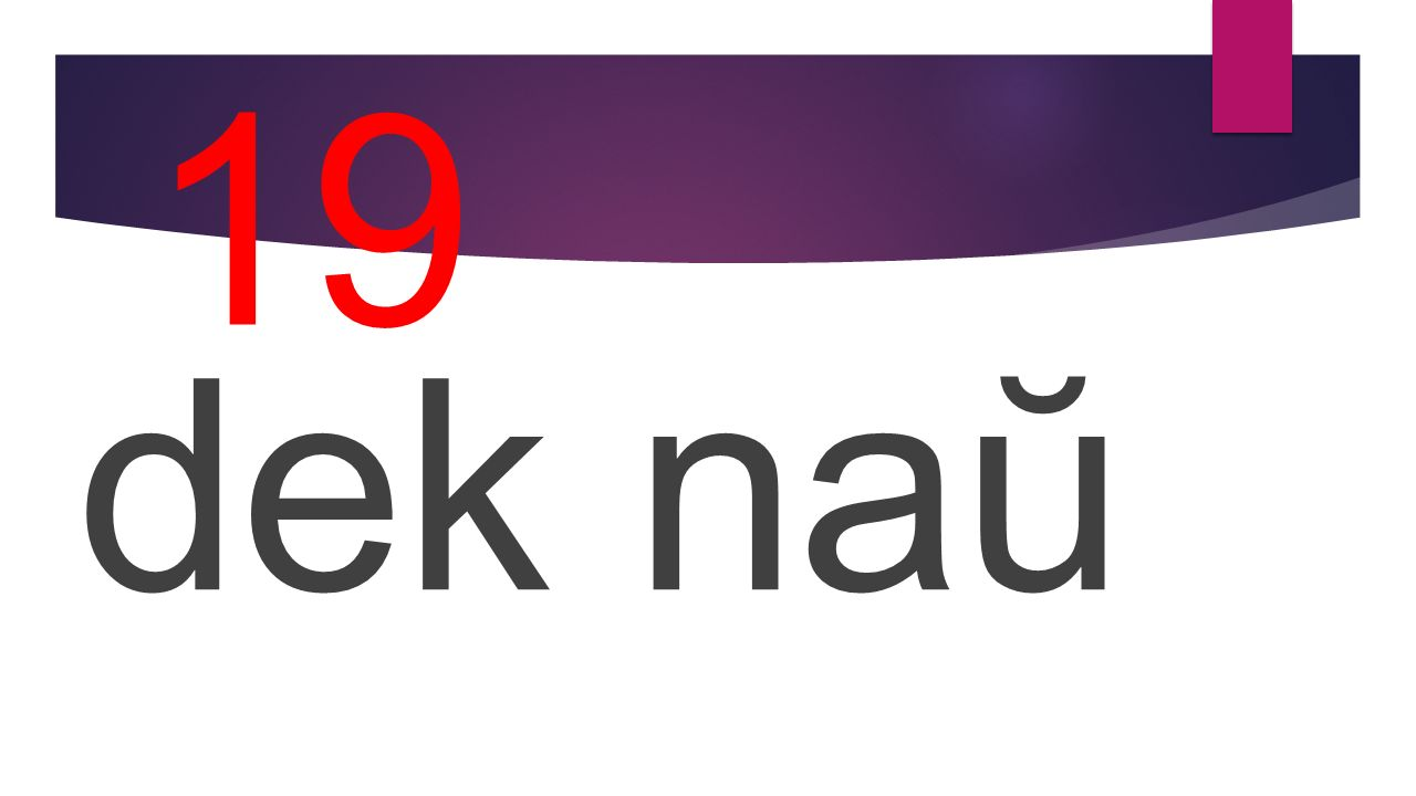 19 dek naŭ