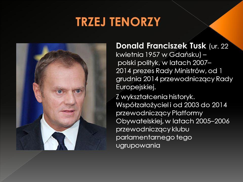 Donald Franciszek Tusk (ur.