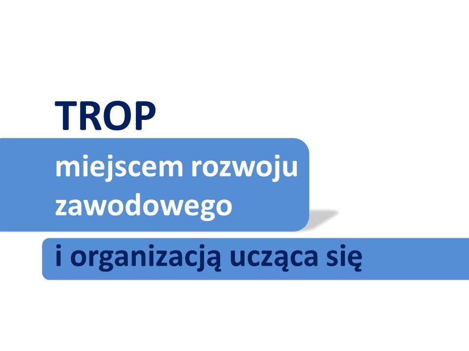 TROP miejscem rozwoju zawodowego i organizacją ucząca się