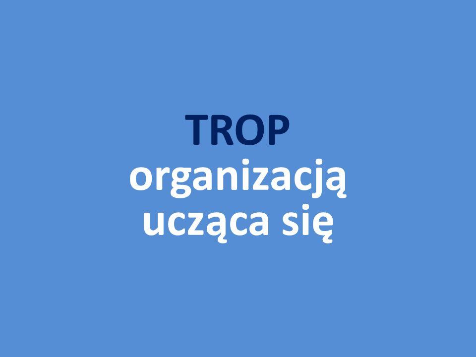 TROP organizacją ucząca się