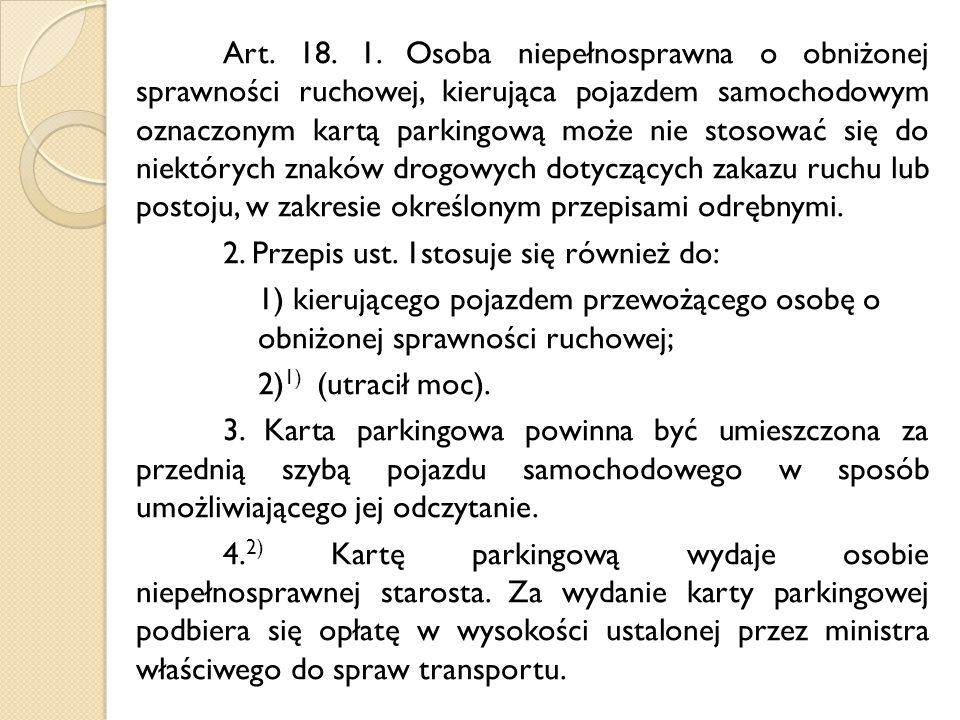 Art. 18. 1.