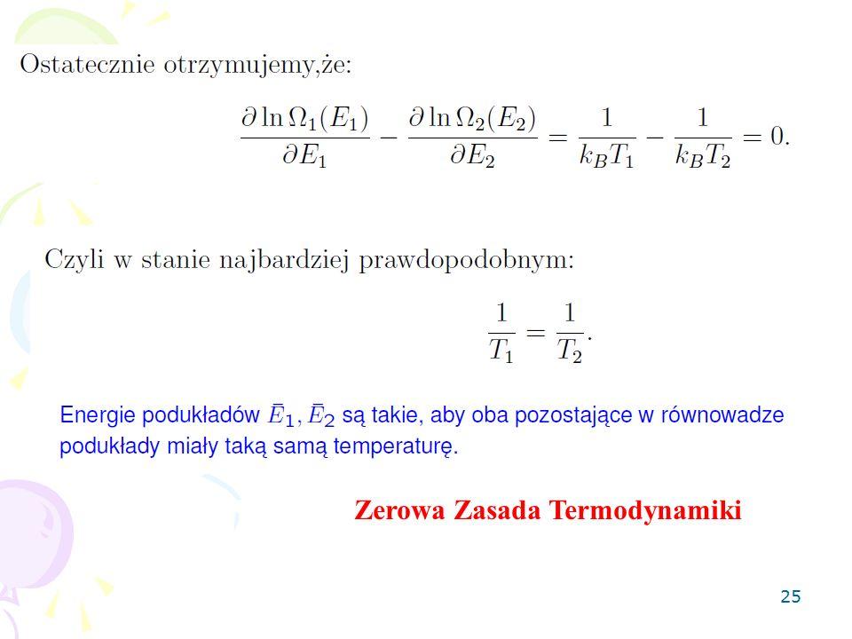 25 Zerowa Zasada Termodynamiki
