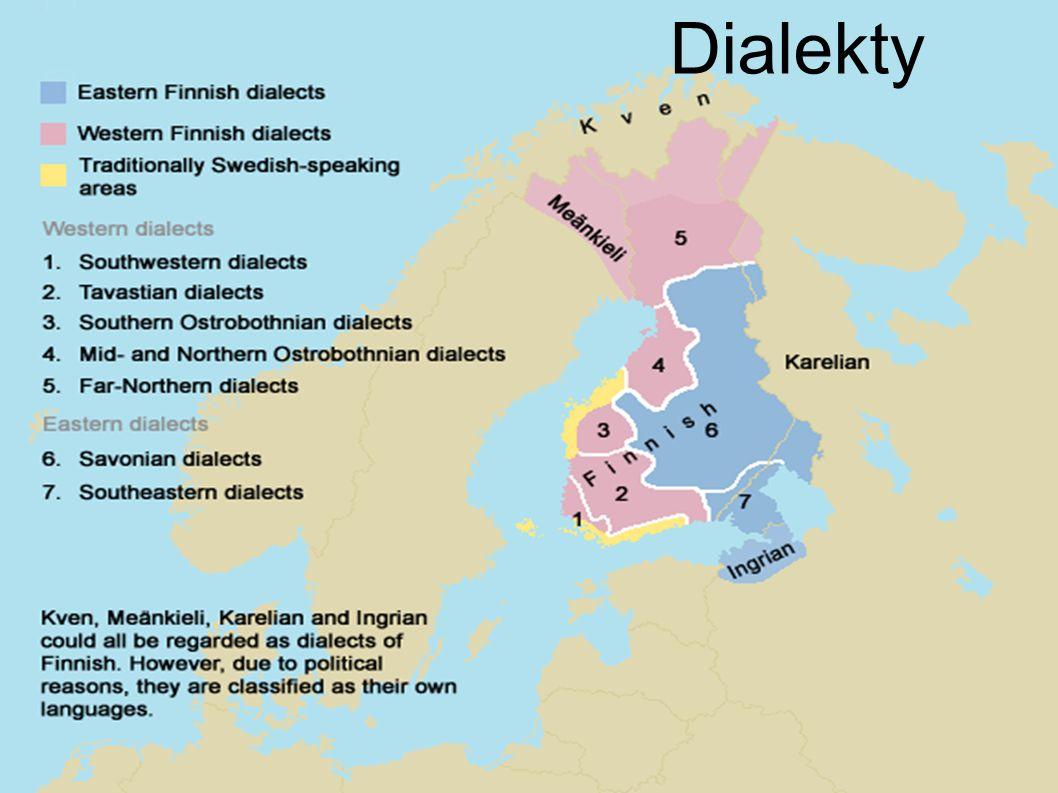 Dialekty