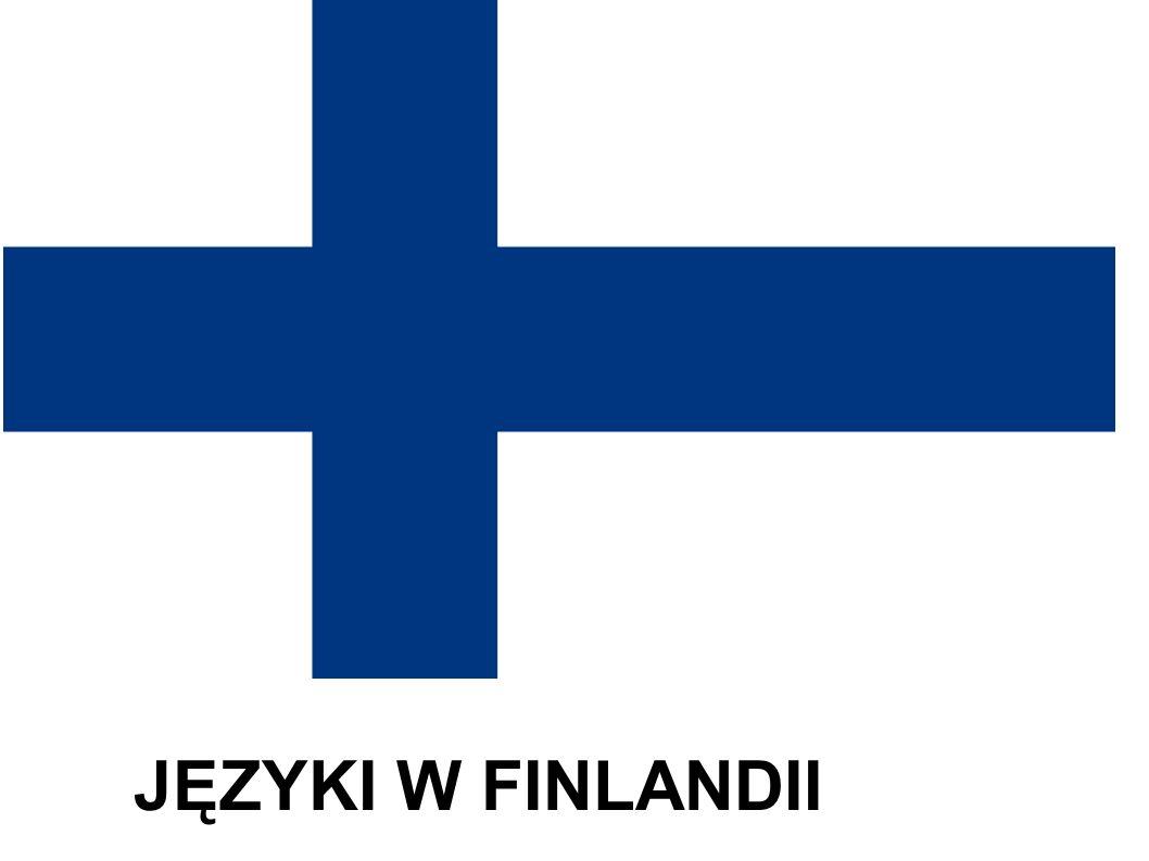 JĘZYKI W FINLANDII