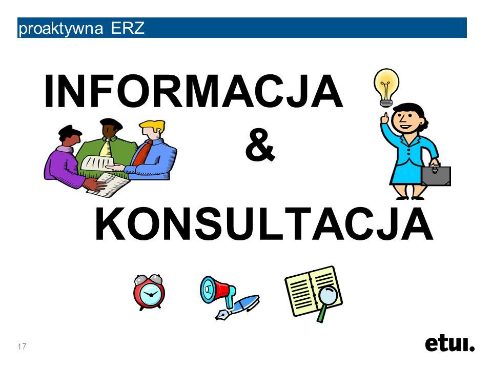 proaktywna ERZ INFORMACJA & KONSULTACJA 17
