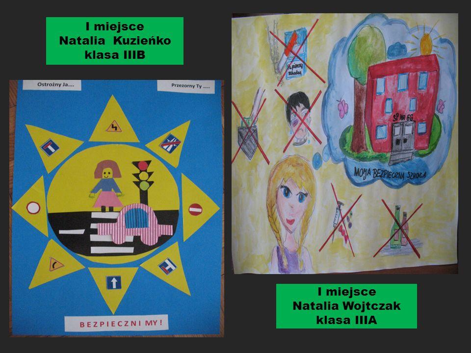 """Wyniki szkolnego konkursu plastycznego dla uczniów klas ii-iii """"bezpieczna droga do szko Ł y """""""
