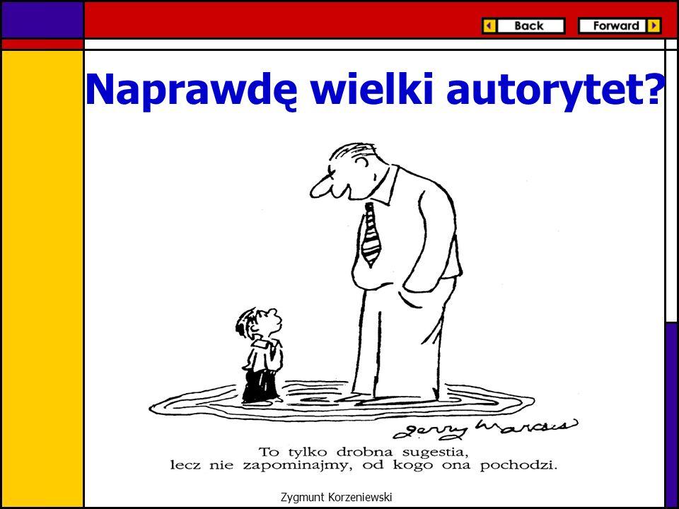 Naprawdę wielki autorytet? Zygmunt Korzeniewski