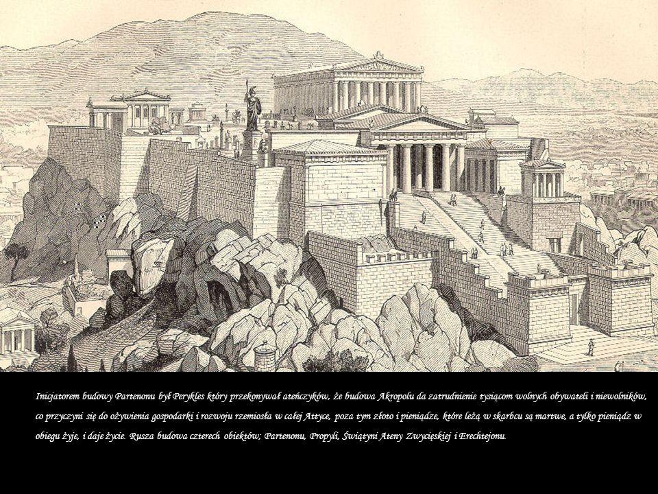Górujące nad Atenami wapienne wzgórze – Akropol, jest największą chlubą miasta.