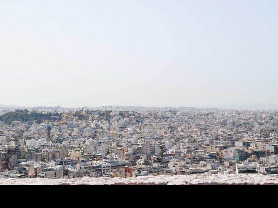Widok Aten z Akropolu