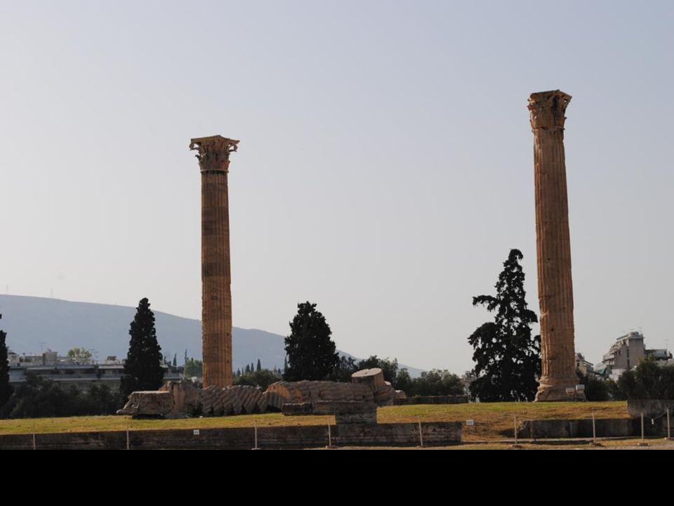 Świątynia Zeusa Olimpijskiego.