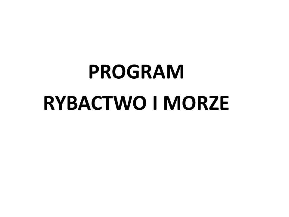 PROGRAM RYBACTWO I MORZE