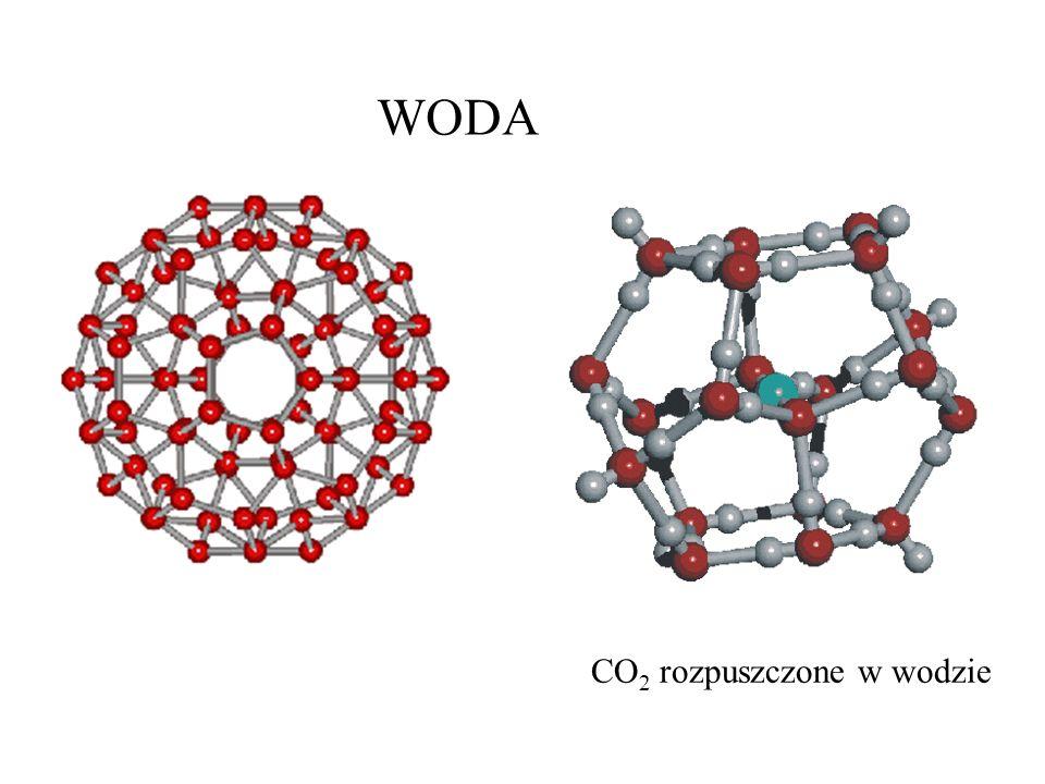 WODA CO 2 rozpuszczone w wodzie