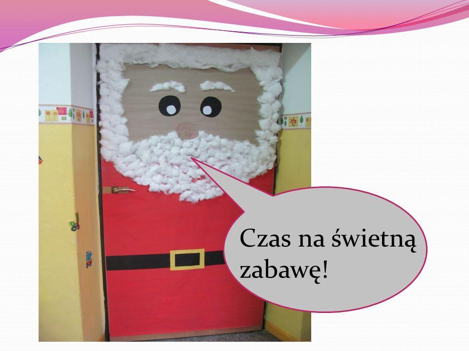 Na rozgrzewkę zaśpiewaliśmy piosenkę o Mikołaju
