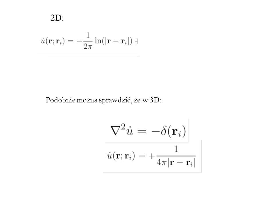 Podobnie można sprawdzić, że w 3D: 2D: