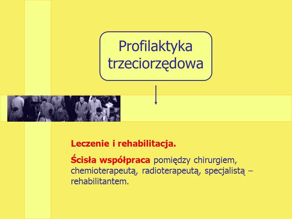 Leczenie i rehabilitacja.