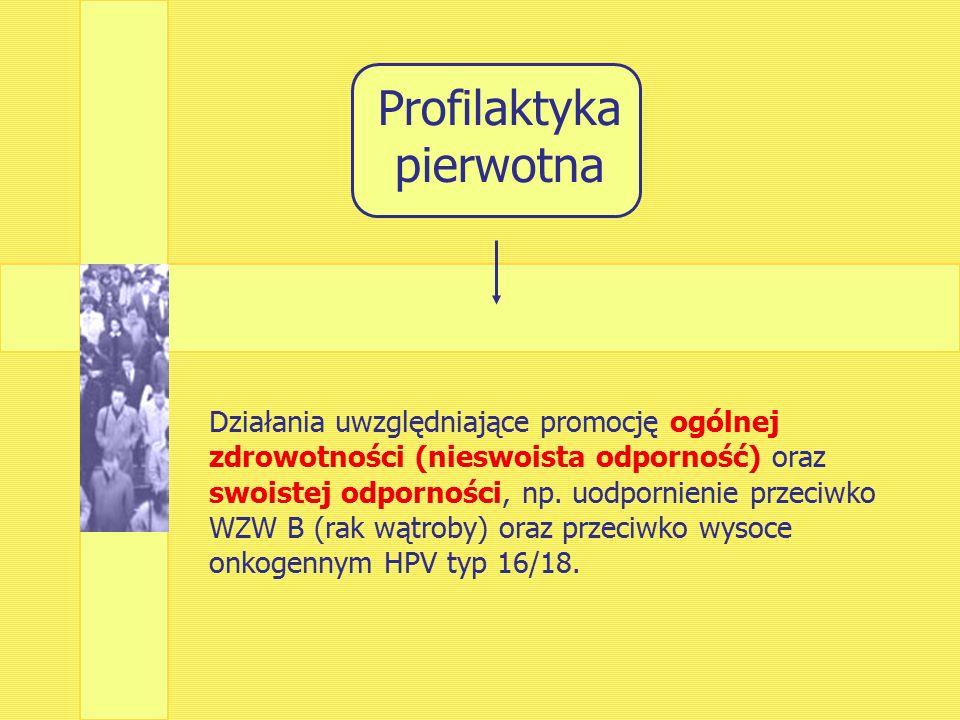 1991: Borysewicz – szczepienie stymuluje układ odpornościowy przeciwko białkom transportowym E6, E7.