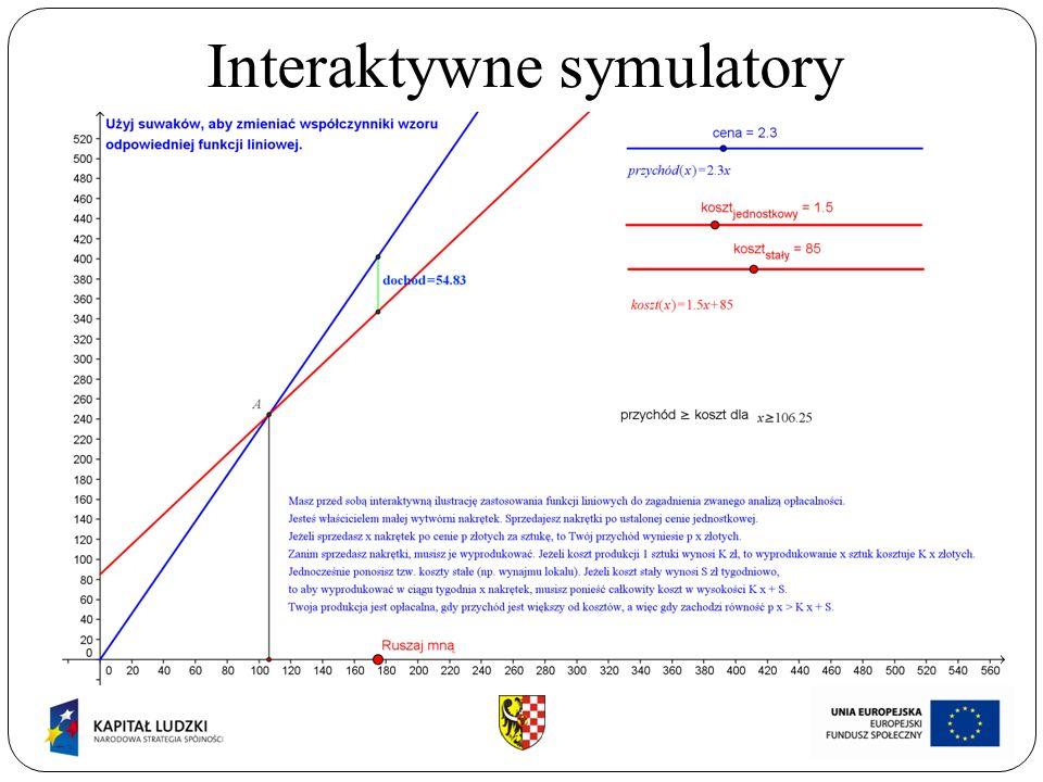 Interaktywne symulatory ABCDEFGHIJKABCDEFGHIJK