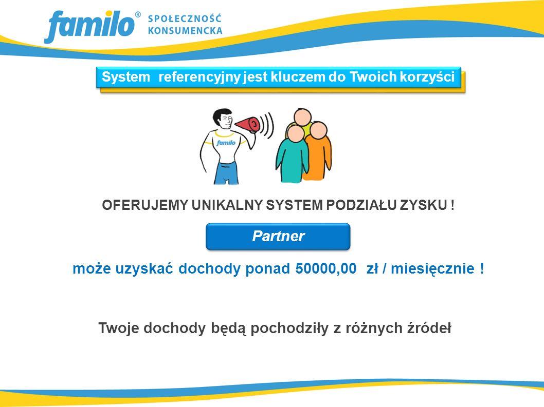 Twoje dochody będą pochodziły z różnych źródeł OFERUJEMY UNIKALNY SYSTEM PODZIAŁU ZYSKU .
