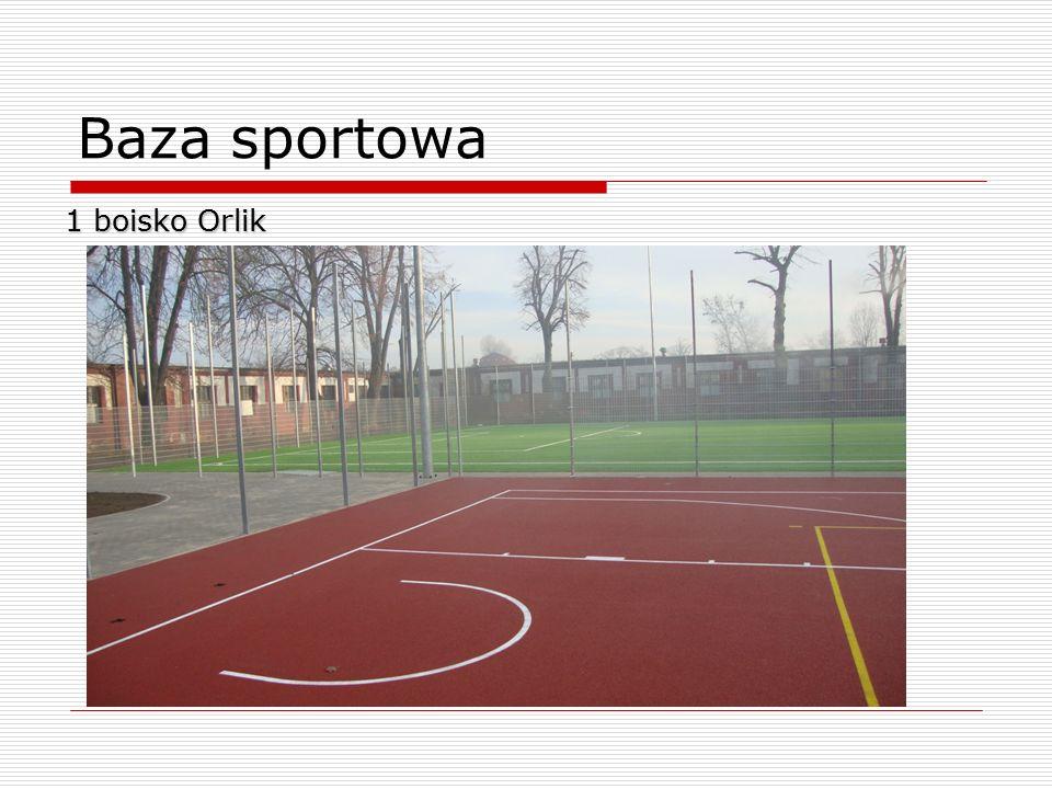 Baza sportowa 1 boisko Orlik