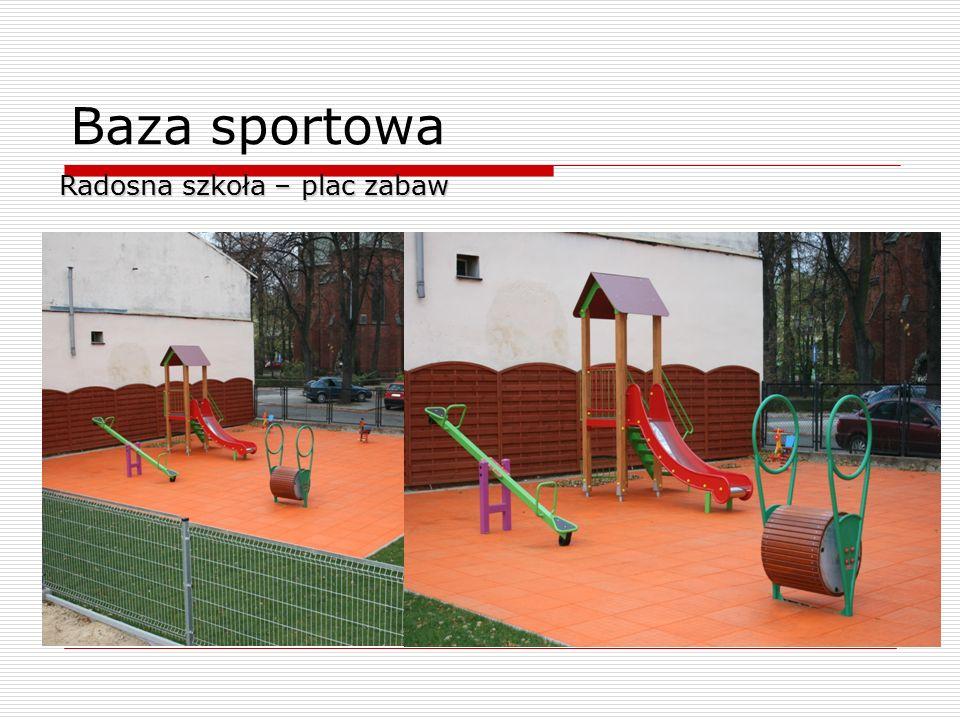 Baza sportowa Radosna szkoła – plac zabaw