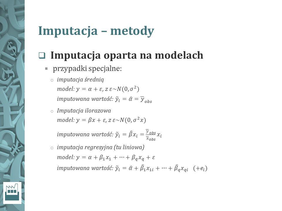 Imputacja – metody
