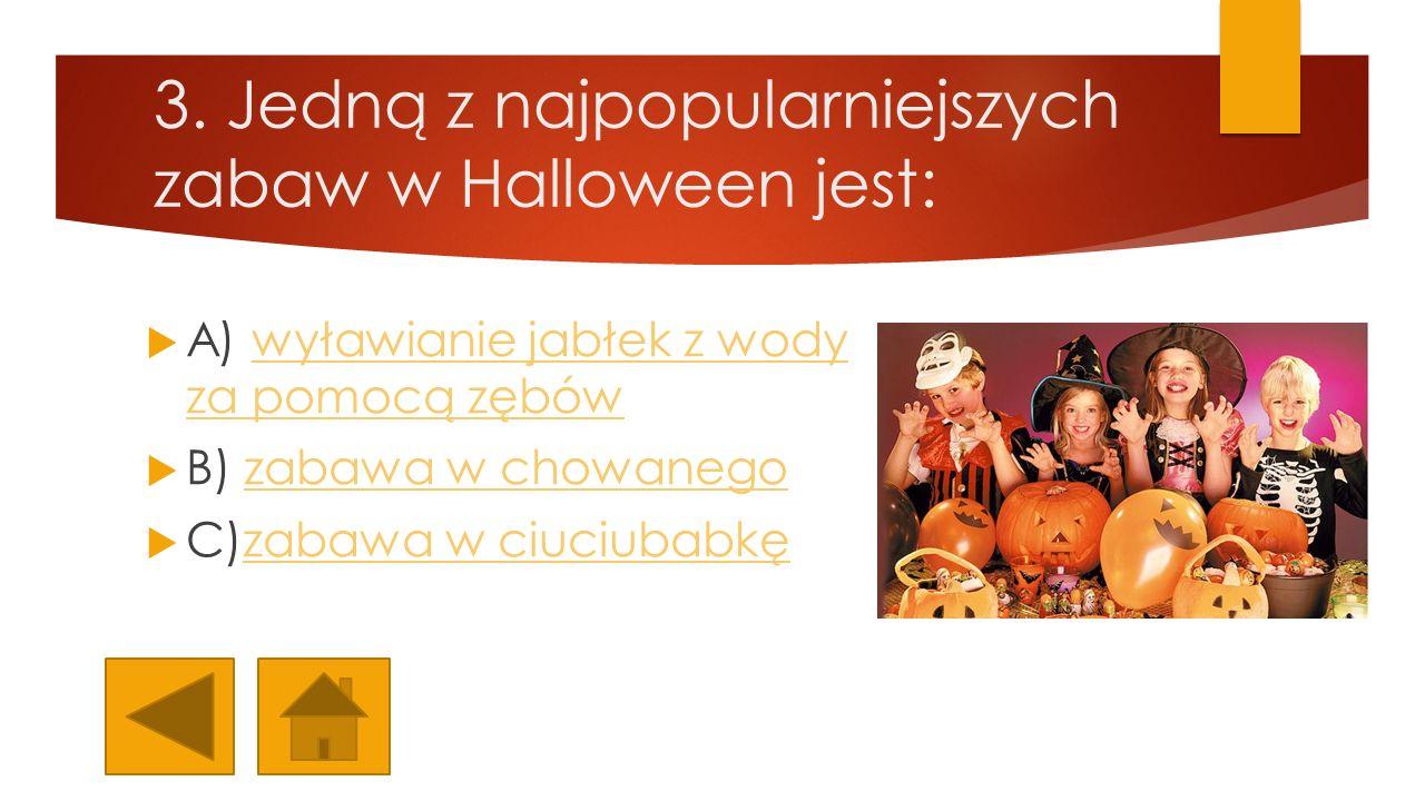 10.Ile lat temu przywędrowała do Polski tradycja Halloween.