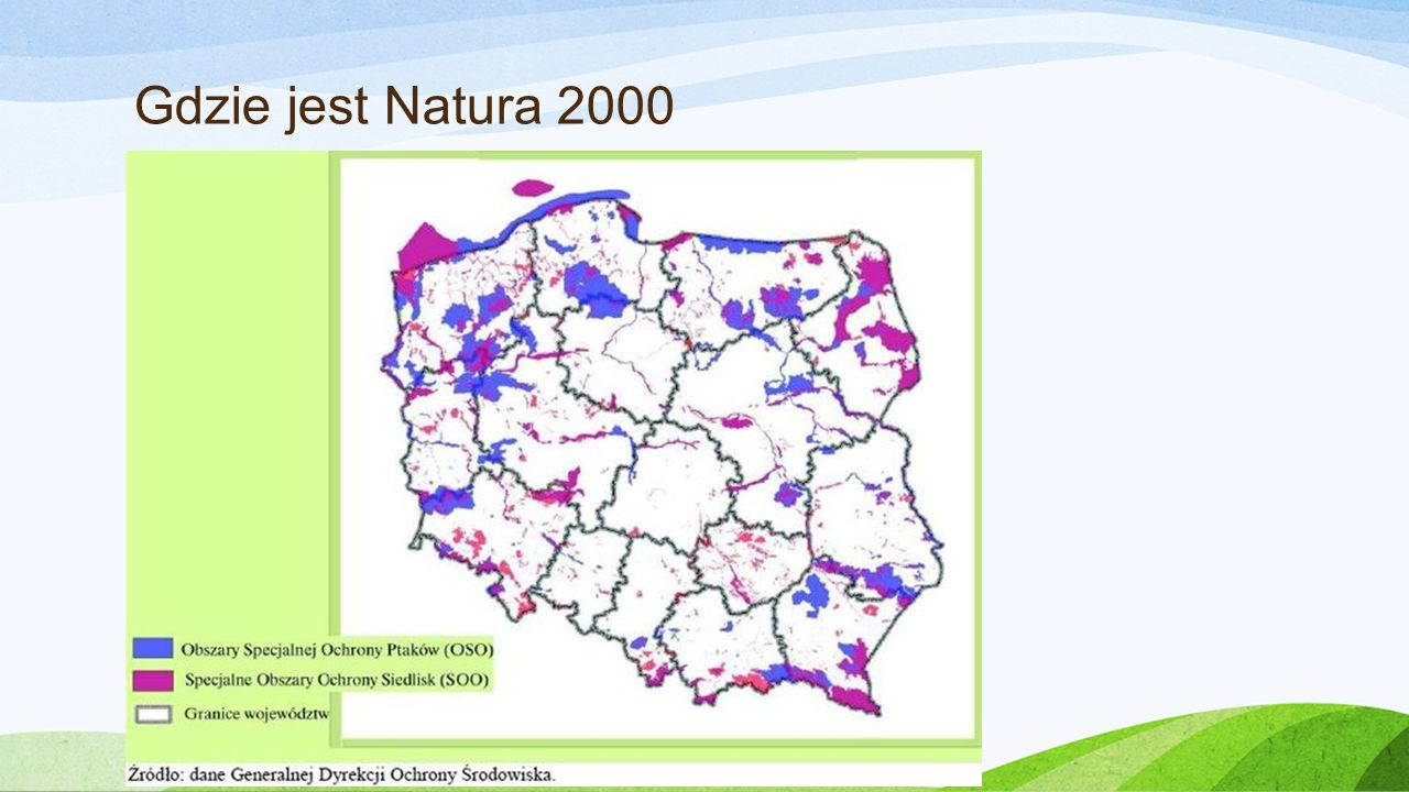 Gdzie jest Natura 2000