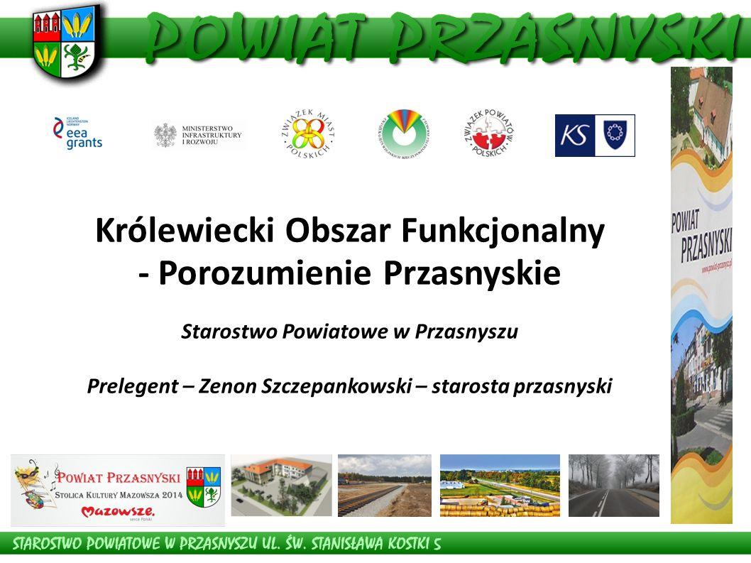 Stowarzyszenie Królewiecki Obszar Funkcjonalny - Porozumienie Przasnyskie.