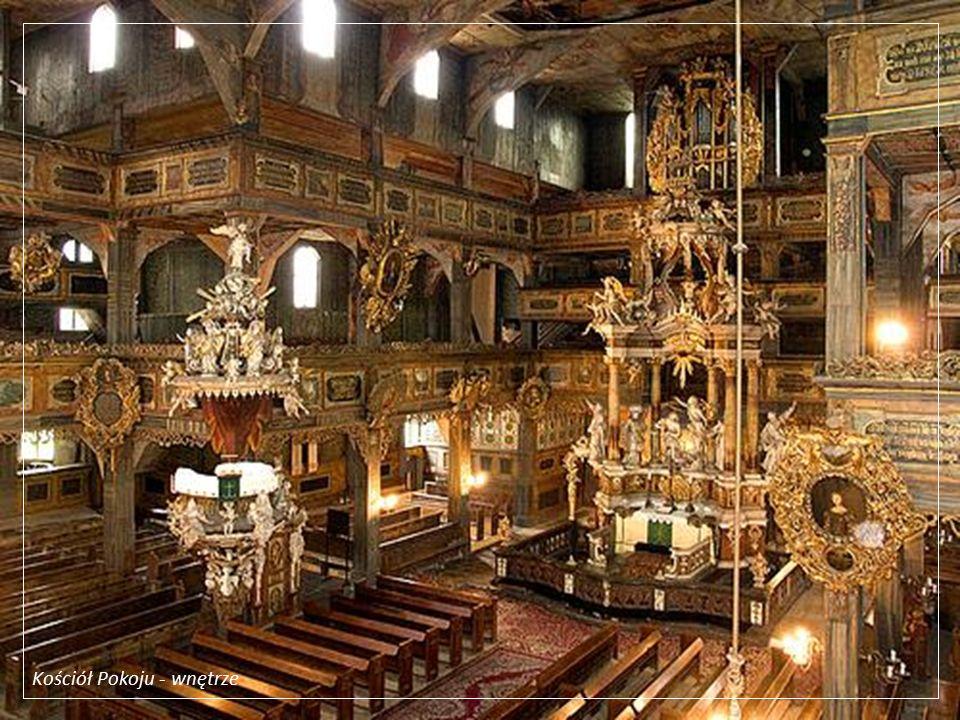 Kościół Pokoju - organy