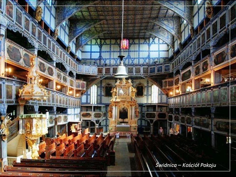 Kościół Pokoju - wnętrze