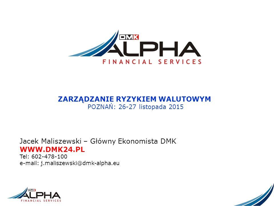 ZABEZPIECZENIE KOSZTU – FAKTURA DENOMINOWANA Gdyby w dniu 4 stycznia (w dniu wystawiania faktury w PLN) kurs EUR/PLN wynosił 4,00, dostawca wystawiłby fakturę o wartości 100 000 EUR x 4,00 EUR/PLN = 400 000 PLN.