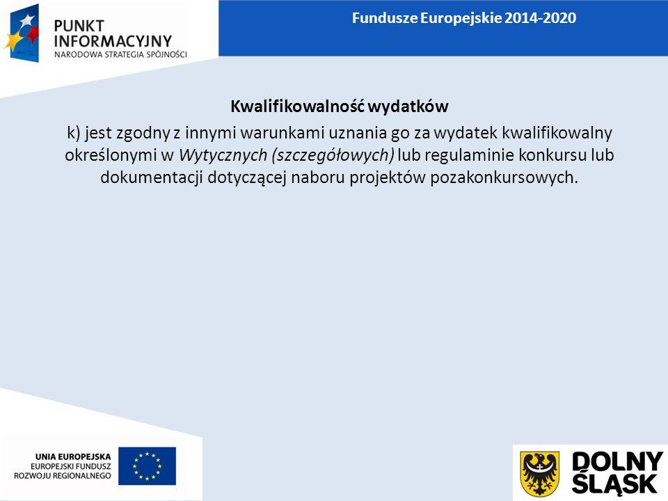 Wydatki niekwalifikowane ł) zakup lokali mieszkalnych, za wyjątkiem wydatków dokonanych w ramach celu tematycznego 9 Promowanie włączenia społecznego, walka z ubóstwem i wszelką dyskryminacją, poniesionych zgodnie z Wytycznymi w zakresie zasad realizacji przedsięwzięć w obszarze włączenia społecznego i zwalczania ubóstwa z wykorzystaniem środków Europejskiego Funduszu Społecznego i Europejskiego Funduszu Rozwoju Regionalnego na lata 2014-2020,
