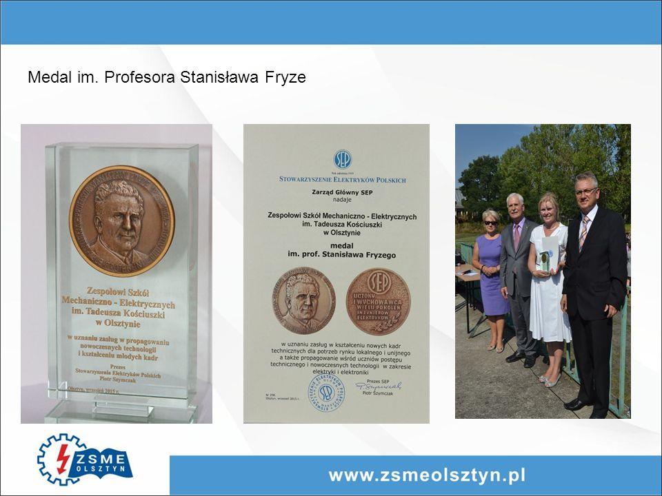 Medal im. Profesora Stanisława Fryze