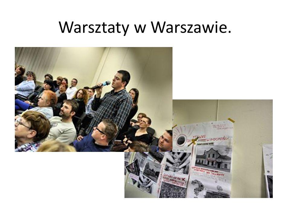 Warsztaty w Warszawie.