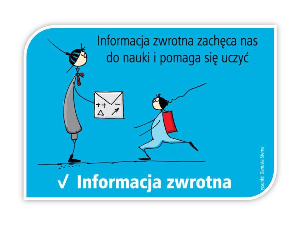 Z czego składa się efektywna informacja zwrotna dla ucznia.