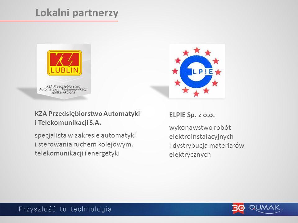Lokalni partnerzy KZA Przedsiębiorstwo Automatyki i Telekomunikacji S.A.