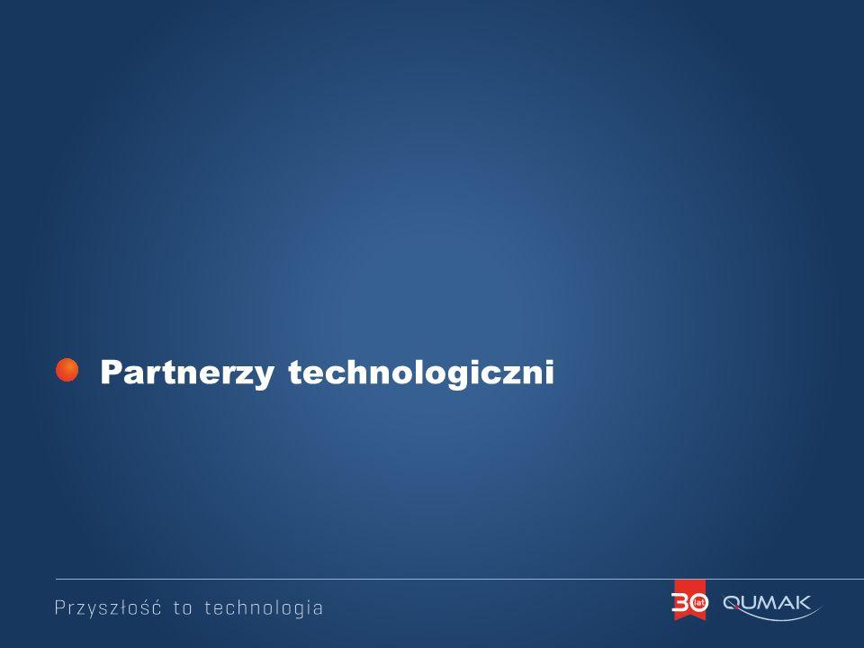 Partnerzy technologiczni