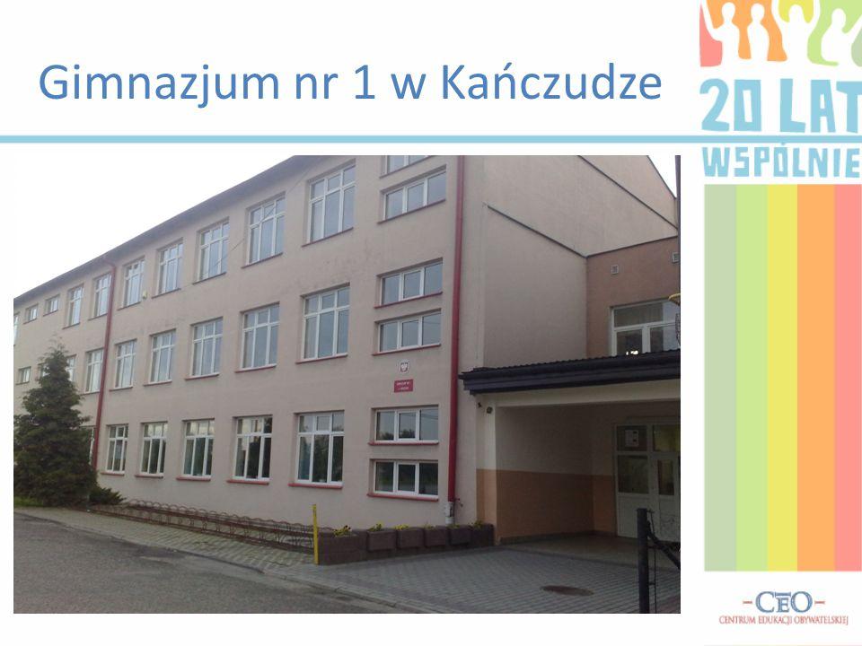 Gimnazjum nr 1 w Kańczudze