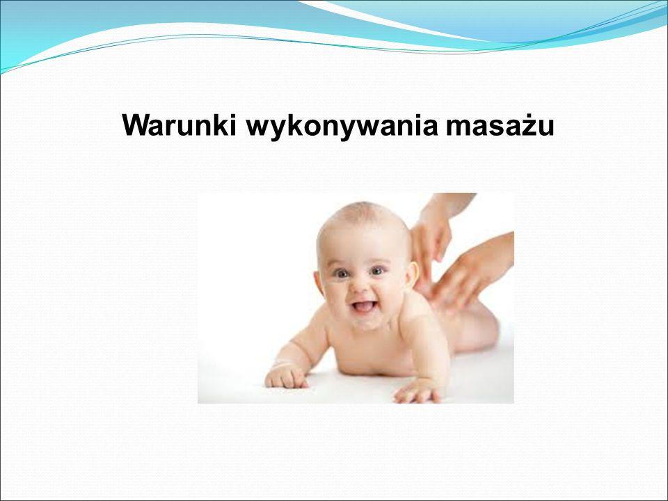 Warunki wykonywania masażu