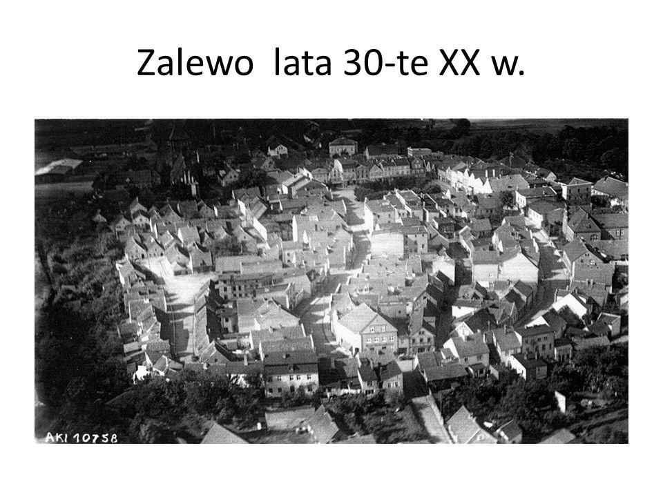 Zalewo lata 30-te XX w.