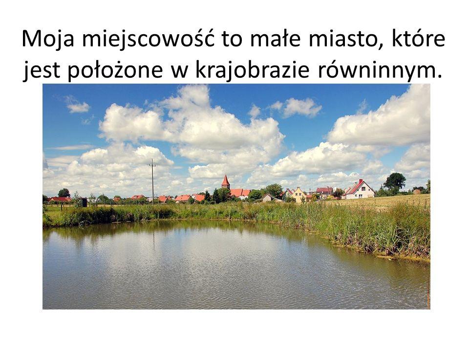 Moja miejscowość to małe miasto, które jest położone w krajobrazie równinnym.