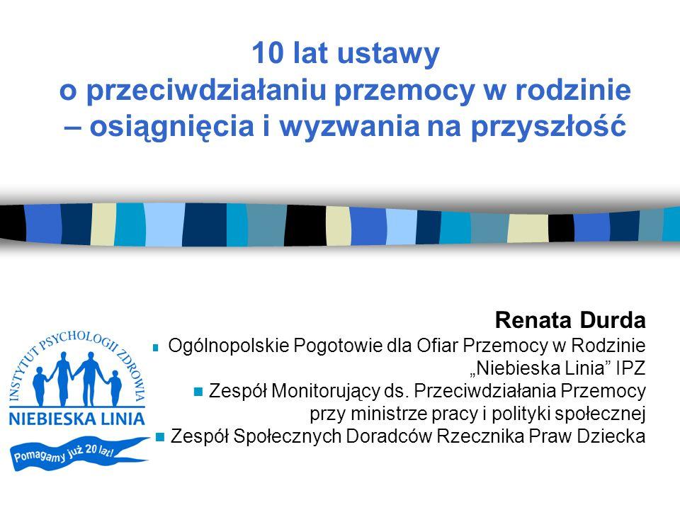 """Szanse systemu współpracy na rzecz osób pokrzywdzonych Wzrost zainteresowania przestrzeganiem przemocy w rodzinie / przemocy wobec kobiet na szczeblu międzynarodowym, krajowym i lokalnym Ulepszane przepisy prawne Wspólne szkolenia (ćwiczenie współpracy) Wypracowanie standardów, procedur i """"map drogowych Lepsza diagnoza problemów społecznych i luk prawnych Wzmacnianie wzajemnych kompetencji Wspólne cele!"""